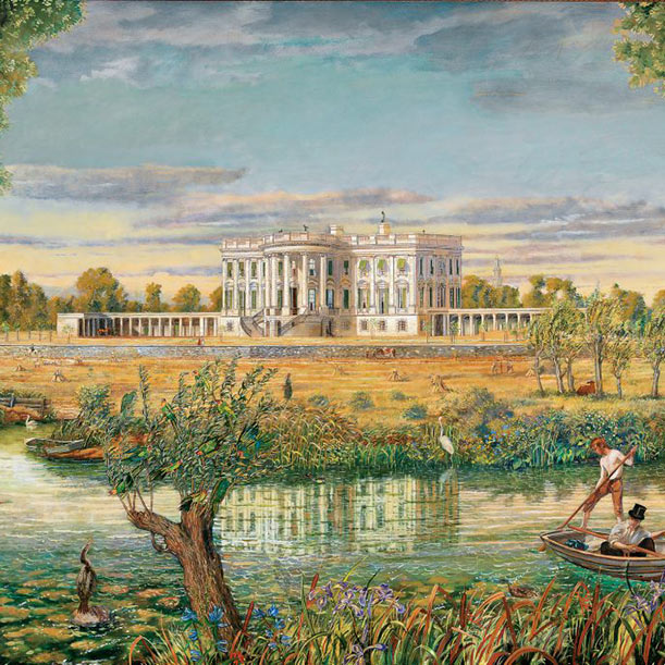 Peter Waddell works commissioned for Washington Exhibition