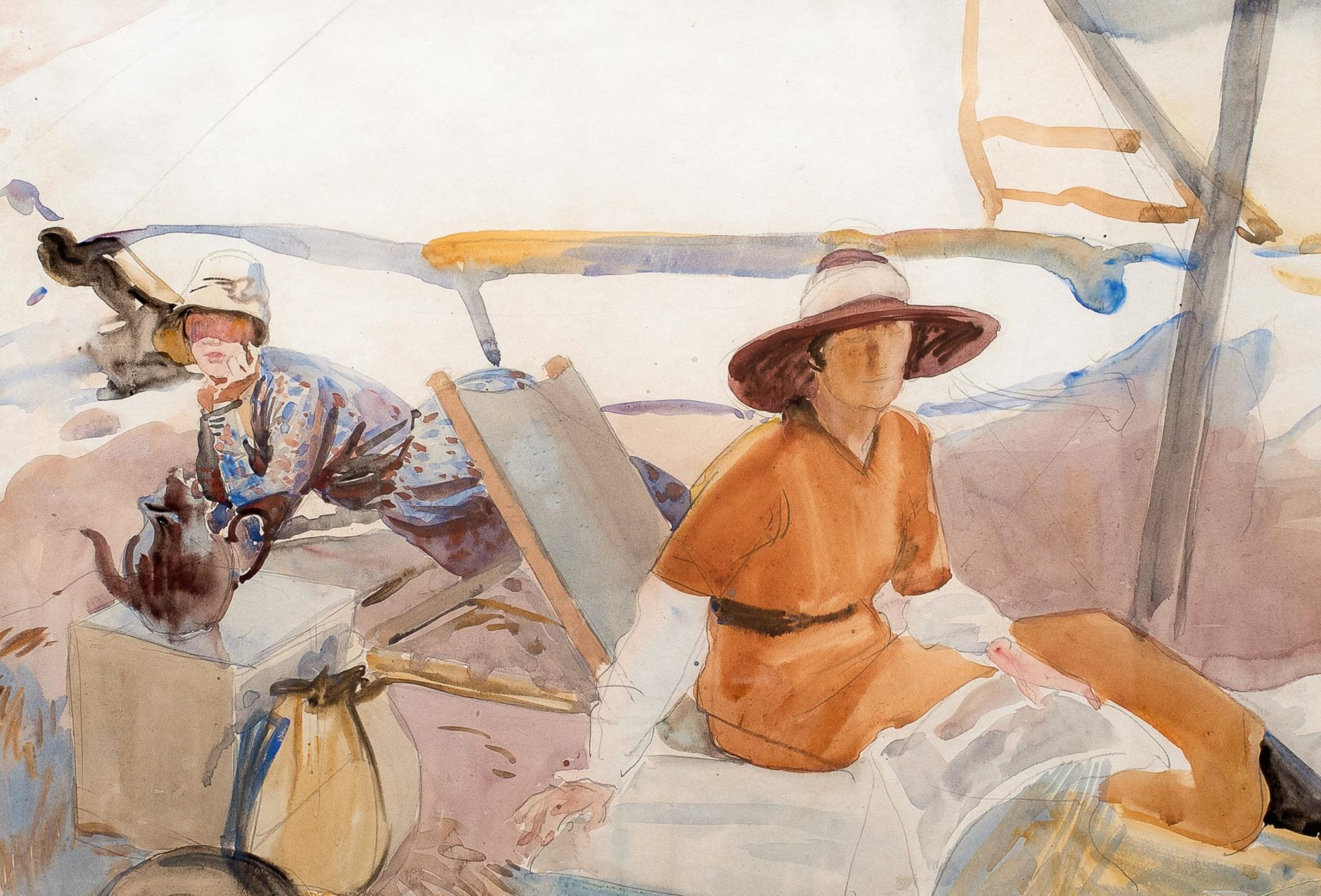'Frances Hodgkins and Her Circle' – Exhibition at Jonathan Grant Gallery